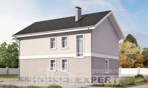 170-008-R Two Story House Plans, the budget Design Blueprints,