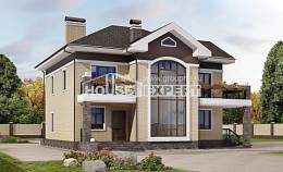 200-006-R Two Story House Plans, luxury Timber Frame Houses Plans, House Expert