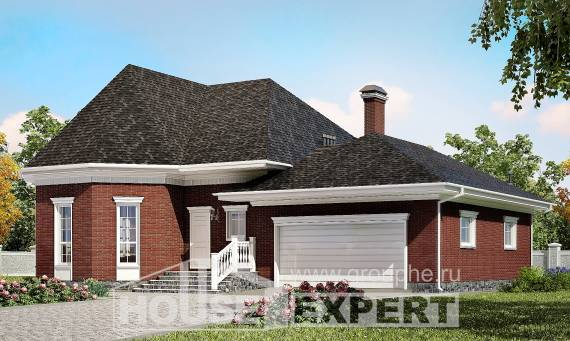 290-002-R Two Story House Plans with garage in front, spacious House Plans, House Expert