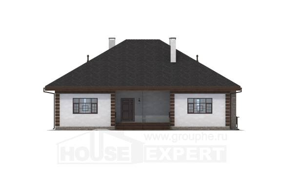 135-003-R One Story House Plans, the budget Cottages Plans, House Expert