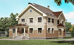 300-004-L Two Story House Plans, modern Architect Plans,