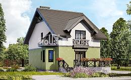 120-003-R Two Story House Plans, inexpensive Custom Home, House Expert