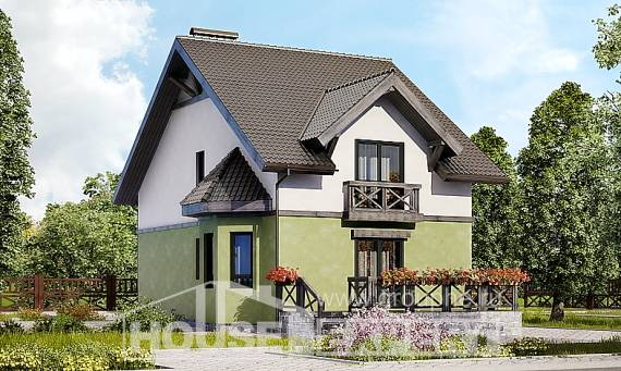 120-003-R Two Story House Plans, modest Design House,