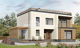 215-002-L Two Story House Plans, average Architectural Plans,