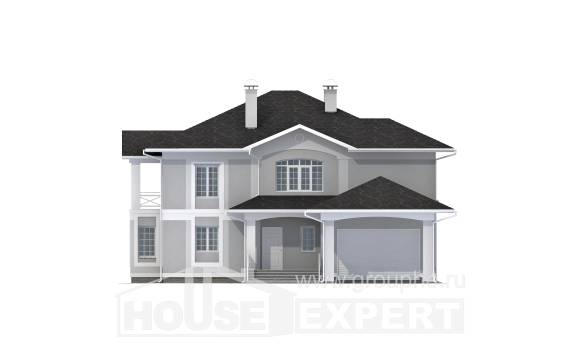360-001-R Two Story House Plans and garage, modern Custom Home Plans Online,
