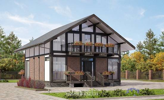 170-007-R Two Story House Plans and mansard, beautiful Ranch,