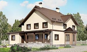 265-003-L Two Story House Plans, beautiful Home House