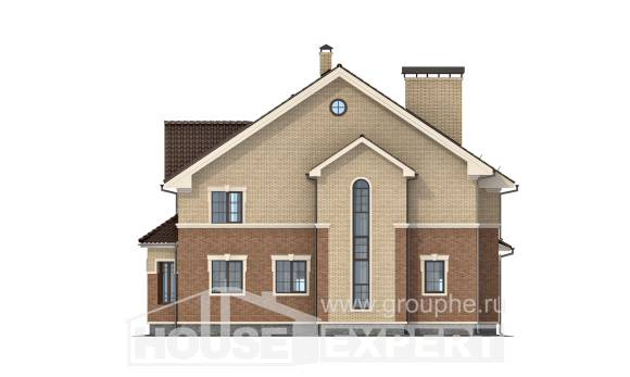 300-004-L Two Story House Plans, cozy Floor Plan,