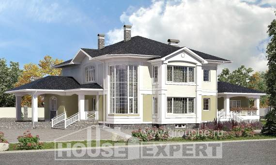 620-001-L Three Story House Plans with garage in front, a huge Home Plans,