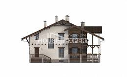 400-004-R Three Story House Plans and mansard and garage, a huge Plans To Build,