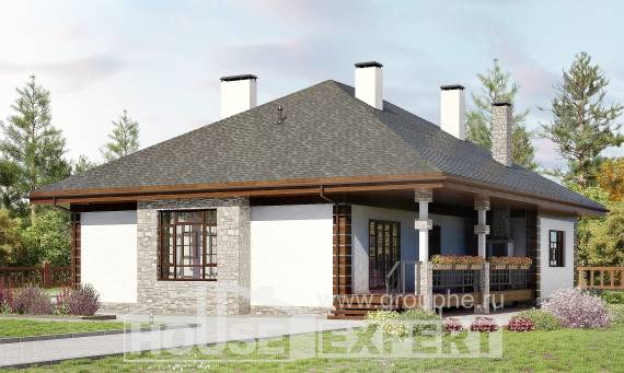 135-003-R One Story House Plans, available Home Plans, House Expert