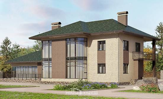 305-003-R Two Story House Plans, a huge Plans To Build,