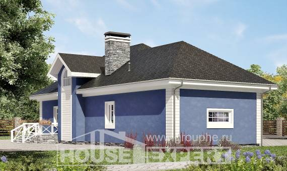 180-010-L Two Story House Plans with mansard with garage under, average Woodhouses Plans,