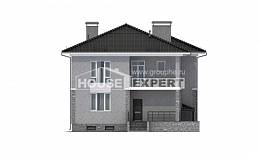 275-004-R Three Story House Plans with garage in front, cozy Home House, House Expert