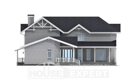 340-004-R Two Story House Plans, classic Plans To Build,