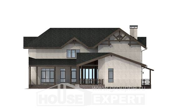 340-004-L Two Story House Plans, cozy Dream Plan,