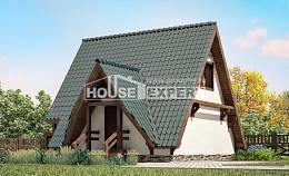 070-003-R Two Story House Plans with mansard roof, available Design House,