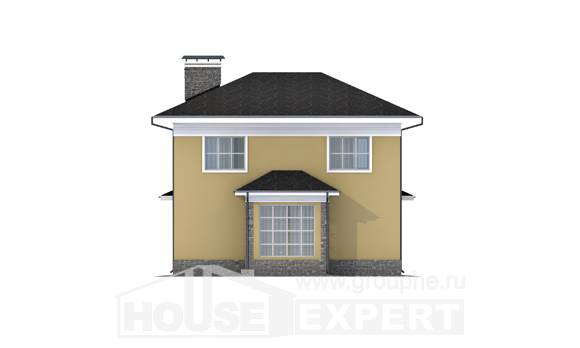 155-011-L Two Story House Plans, the budget House Online, House Expert
