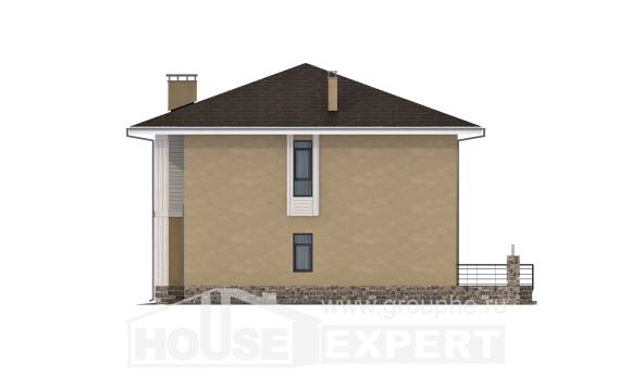 180-015-L Two Story House Plans, beautiful Building Plan,