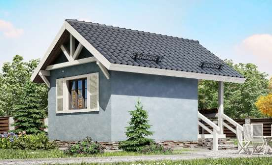 020-001-L One Story House Plans with mansard roof, modest House Online, House Expert