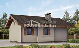 090-002-L One Story House Plans, the budget Woodhouses Plans, House Expert