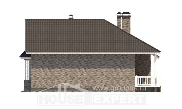 195-001-R One Story House Plans, best house Design Blueprints,