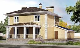 220-006-L Two Story House Plans with garage, a simple Models Plans,