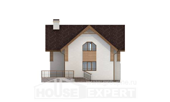 150-009-R  Two Story House Plans, classic Architect Plans,