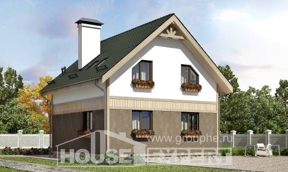 105-001-L Two Story House Plans and mansard, cozy Home Plans,