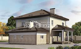 220-007-R Two Story House Plans with garage, beautiful Design House