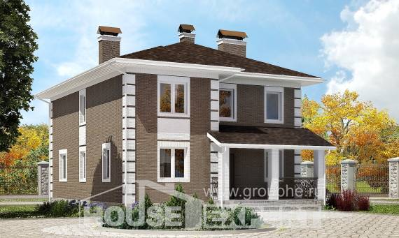 185-002-R Two Story House Plans, beautiful Home Plans,