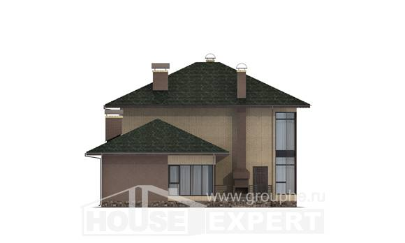 305-003-R Two Story House Plans, spacious House Building, House Expert