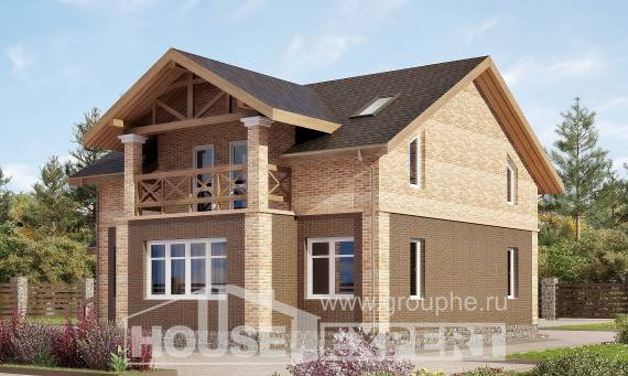 160-014-R Two Story House Plans, classic House Blueprints,