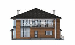 245-001-R Two Story House Plans, modern Ranch,