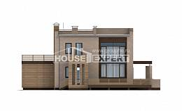 220-003-L Two Story House Plans with garage, spacious Blueprints