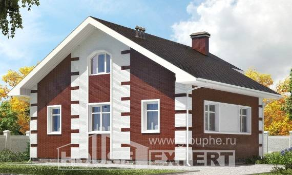 115-001-R Two Story House Plans with mansard, cozy Plans To Build,
