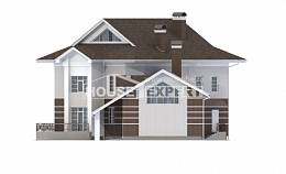 410-001-R Two Story House Plans and garage, spacious House Plans,