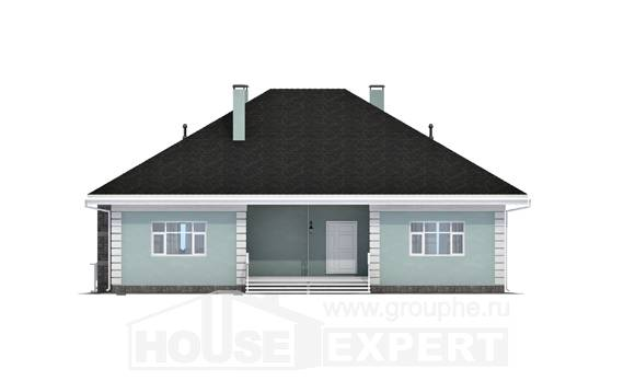 135-003-L One Story House Plans, cozy Models Plans, House Expert
