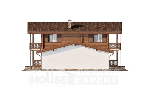 200-011-R Two Story House Plans with mansard roof, a simple House Planes, House Expert
