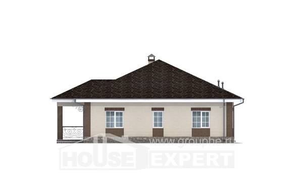 100-004-L One Story House Plans, available House Plan