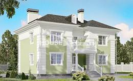155-005-R Two Story House Plans, small Home Plans,