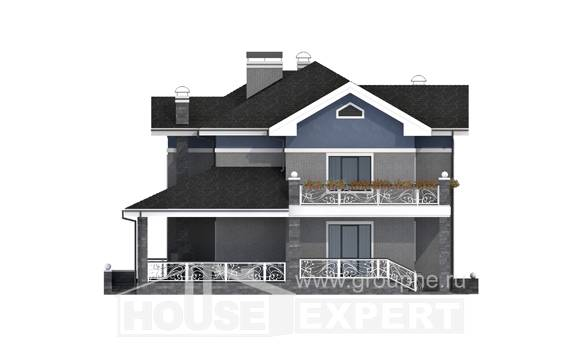 200-006-L Two Story House Plans, best house Floor Plan,