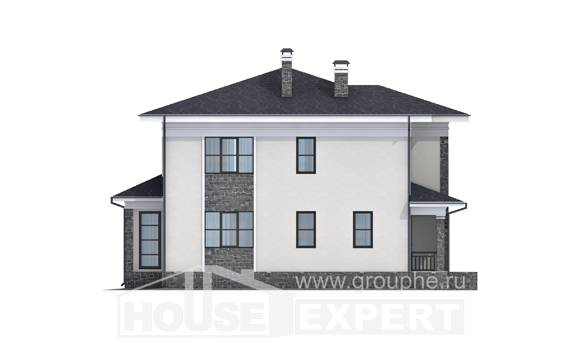 155-011-R Two Story House Plans, the budget Floor Plan, House Expert