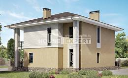 180-015-L Two Story House Plans, luxury House Plans,