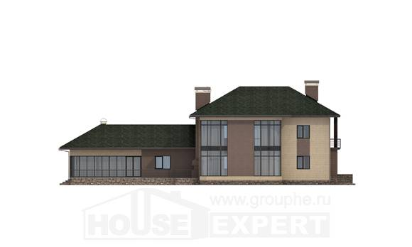 305-003-R Two Story House Plans, beautiful Blueprints, House Expert