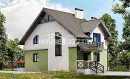 120-003-R Two Story House Plans, beautiful Design Blueprints, House Expert