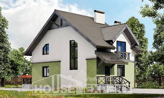 120-003-R Two Story House Plans, classic House Building,