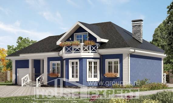 180-010-L Two Story House Plans with mansard and garage, best house Blueprints of House Plans,