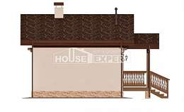 040-003-R Bathhouse plan, House Expert