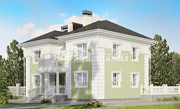 155-005-R Two Story House Plans, inexpensive Models Plans,